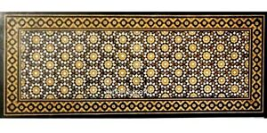 24 x 36 Inches Marble Coffee Table Top Unique Dinning Table with Pietra Dura Art