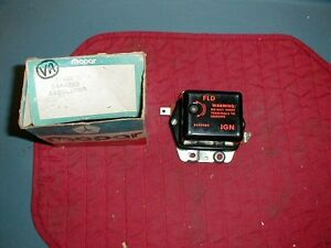 NOS MOPAR 1961-69 ADJUSTABLE VOLTAGE REGULATOR