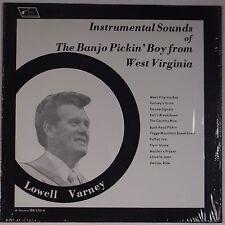 LOWELL VARNEY: Banjo Pickin' Boy from West Virginia BLUEGRASS LP Scarce