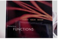 Elementary Functions Paperback – 2012 Book by Stewart, Redlin, Watson