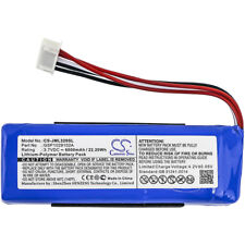 Battery for JBL Charge 3 2016, Charge 3 2016 Version, GSP1029102A