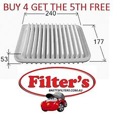 AIR FILTER FOR TOYOTA COROLLA ZRE152R 1.8L 2ZR-FE PETROL MPFI DOHC 2007 - ON