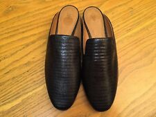 FRYE TERRI WOMENS SLIP ON LEATHER MULE SHOES NEW SIZE 6.5