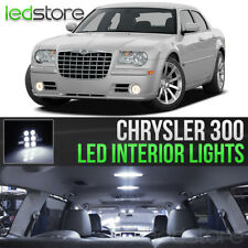 2005-2010 Chrysler 300 White Interior LED Lights Kit Package