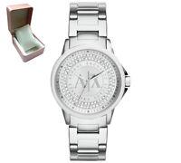 Armani Exchange AX4320 Designer Ladies Stainless Steel Bracelet Watch RRP £130