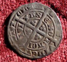 King Edward III 1327 - 1377 Plata Martillada Medio Avena mondada York Menta Serie D