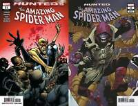 Amazing Spider-Man #21 2 Comic Lot (Marvel 2019) Yu Connecting Variant