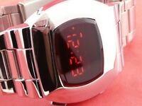 JAMES BOND 70s 1970s Old Vintage Style LED LCD DIGITAL Rare Retro Watch P2 S