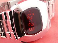 James BOND 70s 1970s Estilo Vintage Antiguas LED LCD Digital Reloj Retro Raro P2 S
