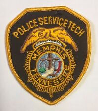 Memphis Tennessee Police Service Tech Cloth Patch