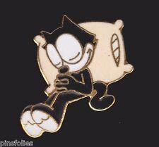 Pin's Folies * Enamel badge Demons et merveilles Felix the cat sleeping # 279 /2