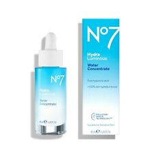 No. 7 HydraLuminous Water Concentrate 30 ml Pure Hyaluronic Acid - Brand New