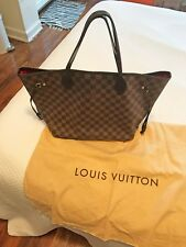 Louis Vuitton Damier Ebene MMSize Never Full with Dust Bag