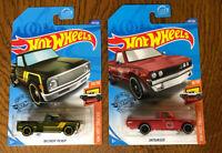 Hot Wheels HW HOT TRUCKS 10/10 '69 Chevy Pickup 202/250 & Datsun 620 8/10.FR/SH