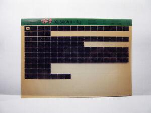 Honda  XL600 V Transalp Teile Katalog auf Microfich  Liste Fich Catalogue 1987
