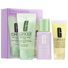 Clinique 10 Days to Great Skin 3 pc Set ( Dry Combination ) New With Box