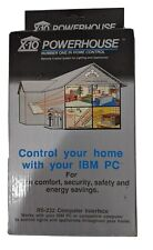 X-10 Powerhouse Home Control Automation Interface Rs-232 White for Ibm Pc