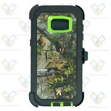 NEW Camo For Samsung Galaxy S7 Edge Case (Clip Fits OtterBox Defender) w/Screen