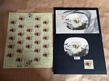 CANADA 2005 YEAR OF THE ROOSTER FDC, MINT STAMP, MINI SHEET & FULL SHEET