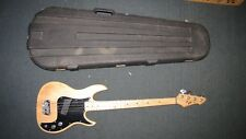 1980 Peavey Fury 4 String Bass Guitar Ashe Body Made in USA Ferrite P up w/ Case