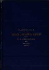 338 Page 1910 Signal Corps Manual No 3 Electrical Instruments & Telephones on CD