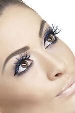 blaufarbene toile d'araignée cils NEUF - COIFFANT maquillage carnaval