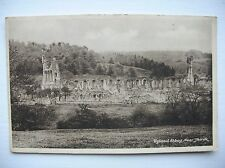 Byland Abbey  --  near Thirsk. M&L National Series Post Card.