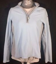 Women's Small or Size 6-8 S Land's End Light Baby Blue Jacket Coat Pullover