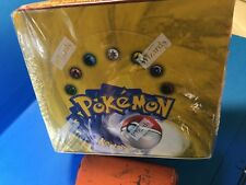 SEALED BASE SET POKEMON 36 PACK BOOSTER BOX 1999-2000 Wizards of the Coast