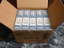 Lot of 5 New Maxell Ultrium LTO 2 200/400GB Tape Data Cartridge 183850
