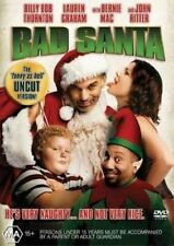 Bad Santa (DVD, 2005) Brand new sealed uncut version!