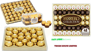 1`Ferrero Rocher Gold Collection,Chocolates Gifts Assortments,X-Mas Sweets Box