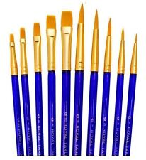 Royal 10 Cepillos valor definido. Para Artistas Acuarela Acrílico y Óleo SVP7