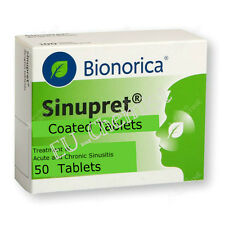 SINUPRET BIONORICA- Sinus congestation - 50/100 Tab./100 ml Oral Drops Solution