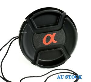 Sony Alpha Lens Cap 55mm, For Replacement.