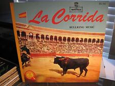 SPANISH BULL FIGHTING MUSIC La Corrida Montilla gate fold f