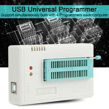 USB PROGRAMMATORE per TL866II Plus EPROM FLASH 8051 AVR PIC MCU+10 Adattatori