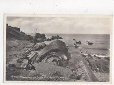 Whale Back & Saddle Back Bude Cornwall Vintage RP Postcard 716a