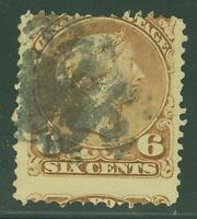 CANADA SCOTT# 27a QUEEN VICTORIA USED AS SHOWN