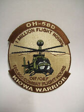 1 Million Flight Hours KIOWA WARRIOR OH-58D Patch