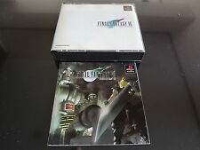 Final Fantasy VII no spine Sony Playstation Japan