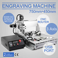 CNC ROUTER ENGRAVER MILLING MACHINE ENGRAVING DRILLING 3 AXIS 6040 DESKTOP USB