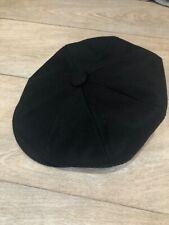 Jaxon & James Wool 'Harlem Newsboy' Cap, Black, Size M, NWT, Rrp £24.99