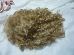 mohair doll wig size 14 beautiful and soft-mohair doll wig