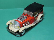 Voiture Excalibur Tin Battery operated old time car vintage toy  Taiwan Cat Head