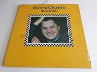 Harry Chapin Heads & Tales LP 1972 Elektra Gatefold Insert Vinyl Record