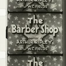 16mm Film THE BARBERSHOP W.C. Fields Blackhawk Print NEAR MINT