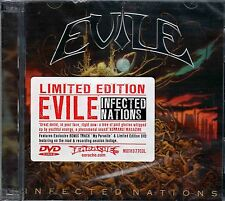 "Evile ""Infected Nations"" CD/DVD - NEW!"