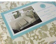 Twin Flannel comforter cover Reversible Martha Stewart Wildwood 100% Cotton New