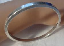Face S & Signed L S Vintage Solid Sterling Bracelet English Hallmarks Lion,